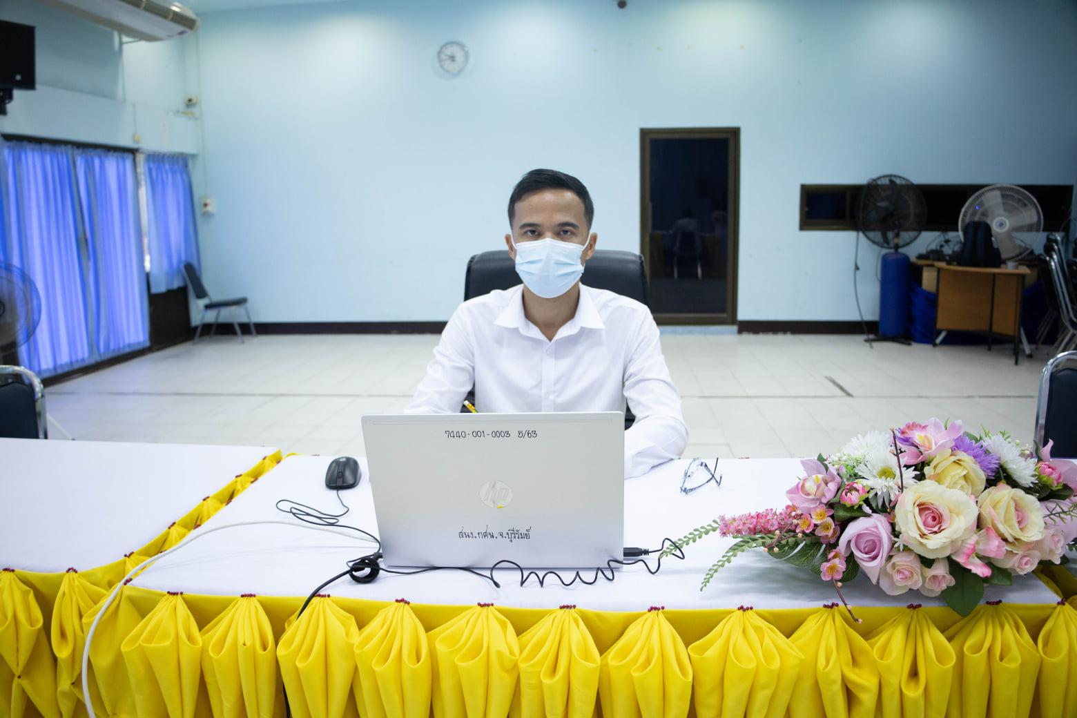 การตัดสินการประกวดขยายผลโครงการจิตอาสา ของสำนักงาน กศน. ประจำปี 2564